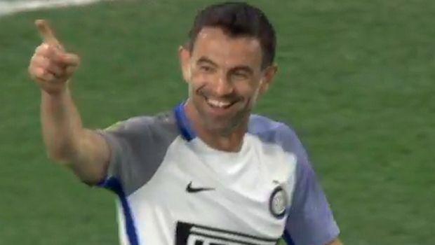 Δυο γκολ ο Καραγκούνης στο φιλικό Chelsea Legends - Inter Forever