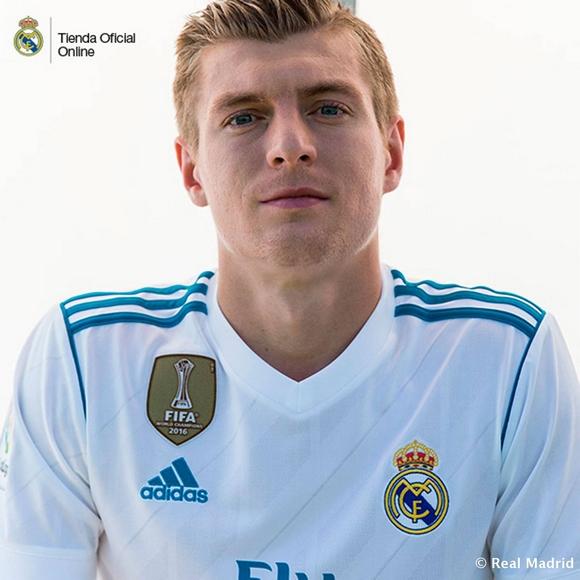 kroos Αυτή είναι η νέα φανέλα της Ρεάλ Μαδρίτης [εικόνες]