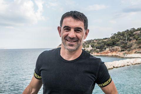 Ο Γιώργος Καραγκούνης στη φωτογράφιση για το SPORT24