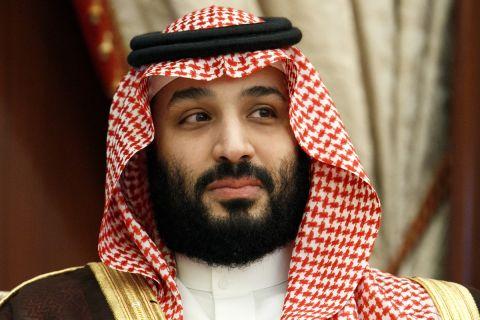 Ο πρίγκιπας της Σαουδικής Αραβίας, Μοχάμεντ μπιν Σαλμάν, Τζέντα | Δευτέρα 24 Ιουνίου 2019