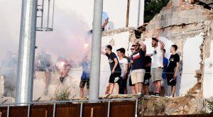 Λαμία – Παναιτωλικός: Είδαν το ματς από την ταράτσα
