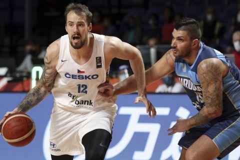 Ο Οντρέι Μπάλβιν σε αγώνα Τσεχία - Ουρουγουάη