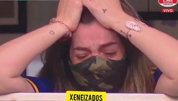Μαραντόνα: Το κλάμα της κόρης του όταν της αφιέρωσαν το γκολ της Μπόκα