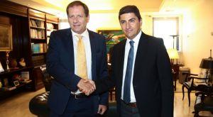 """Αγγελόπουλος και Αυγενάκης: """"Πρόθεση της Πολιτείας να συνδράμει για το κλειστό"""""""