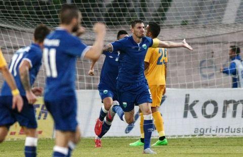 Με σούπερ Μάντζιο, 2-1 ο Λεβαδειακός τον Αστέρα Τρίπολης