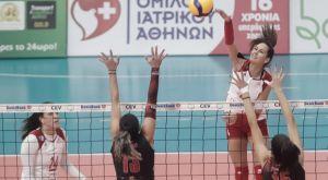Volley League γυναικών: Εύκολα ο Ολυμπιακός, 3-0 τον Πορφύρα