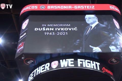 Η εικόνα του Ίβκοβιτς στο cube του Ολυμπιακού