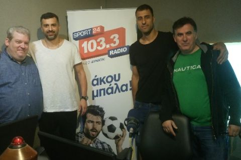Οι πρωταθλητές στον Sport24 Radio 103,3!