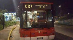 Λεωφορείο CR7 στη Νάπολι και γραμμή Γιουβέντους-Ρεάλ 0-3