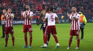"""Ολυμπιακός: Οι πανηγυρισμοί για την πρόκριση στους """"32"""" του Europa League"""