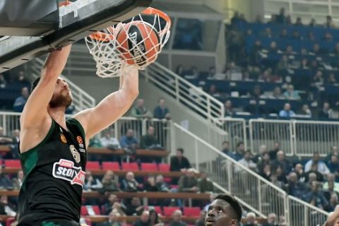 EuroLeague: Καλάθης - Παπαγιάννης και Λάρκιν στο Top-10