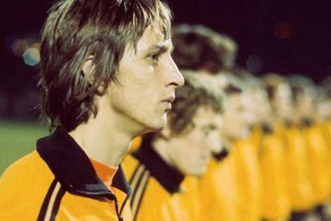 Σιγή στο Ολλανδία-Γαλλία προς τιμήν του Κρόιφ