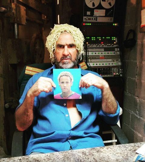 PHOTO: Ο Καντονά έγινε Νεϊμάρ με μακαρόνια στο κεφάλι