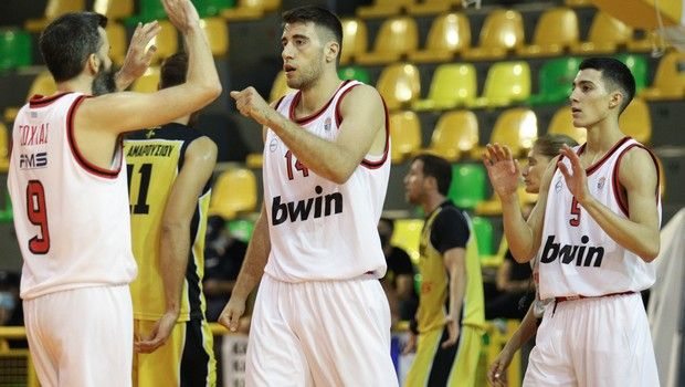 LIVE STREAM: Ολυμπιακός Β' - Κολοσσός (Κύπελλο μπάσκετ Ανδρών)