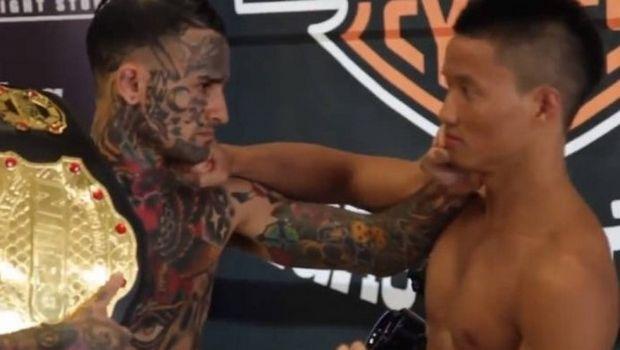 Η θλιβερή πραγματικότητα για τον viral μαχητή με τα τατουάζ που έφαγε νοκ άουτ σε 20''