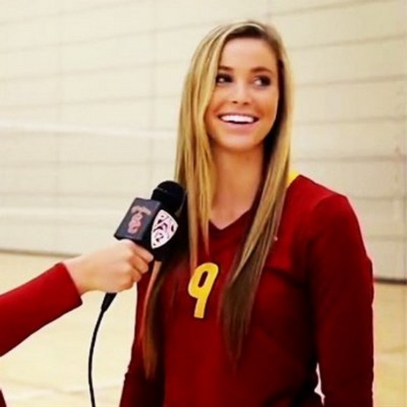 hot college women volleyball players