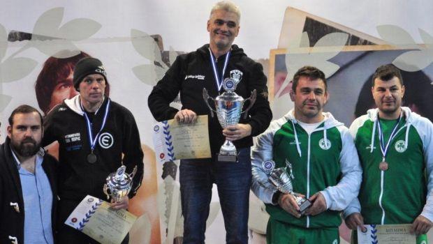 Ο ΠΑΟΚ πρωταθλητής Ελλάδας στην Ελληνορωμαϊκή