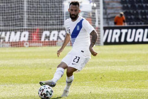 Ο Μανώλης Σιώπης σε αγώνα της Εθνικής Ελλάδας με την Ονδούρα | 26 Μαρτίου 2021