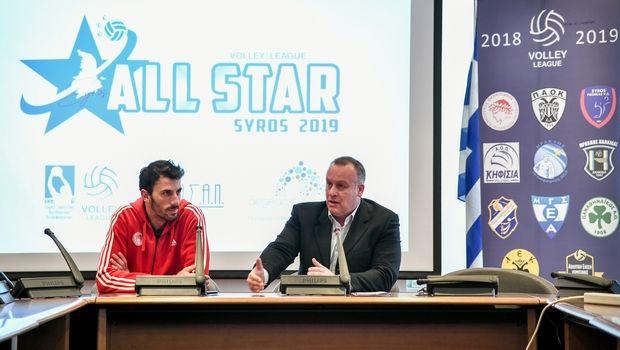 All Star Game 2019: Η Σύρος έτοιμη για το μεγάλο σόου του ελληνικού βόλεϊ