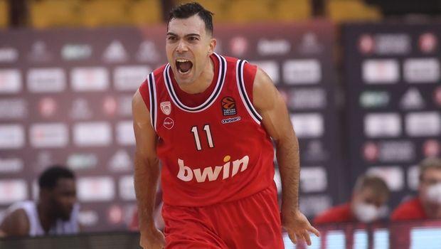 Ολυμπιακός - Μπάγερν 84-82: Ο Σλούκας υπέγραψε το θρίλερ
