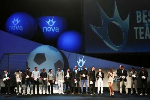 Τα βραβεία της Superleague 2012