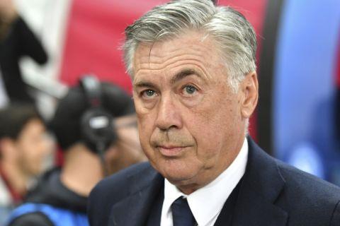 Ο προπονητής της Ρεάλ Μαδρίτης, Κάρλο Αντσελότι