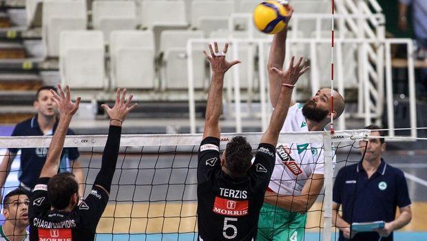 Volley League ανδρών: Παναθηναϊκός - ΠΑΟΚ παράταση στη σειρά ή πρόκριση