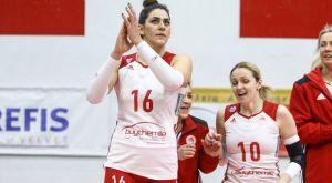 """Ολυμπιακός βόλεϊ γυναικών: Το """"αντίο"""" και το """"ευχαριστώ"""" της Ζακχαίου"""