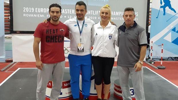 Ευρωπαϊκό πρωτάθλημα Masters: Μετάλλια και παγκόσμια ρεκόρ