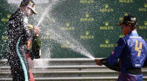 Formula 1: Ο Νόρις άνοιξε την σαμπάνια χτυπώντας την στο πόντιουμ