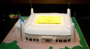 """ΑΕΚ: Η εντυπωσιακή τούρτα, """"Αγιά Σοφιά"""", του Βράνιες"""