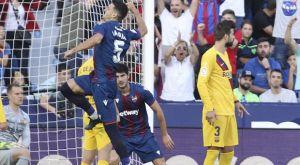 """Λεβάντε – Μπαρτσελόνα 3-1: Ναυάγιο σε οκτώ λεπτά για τους """"μπλαουγκράνα"""""""