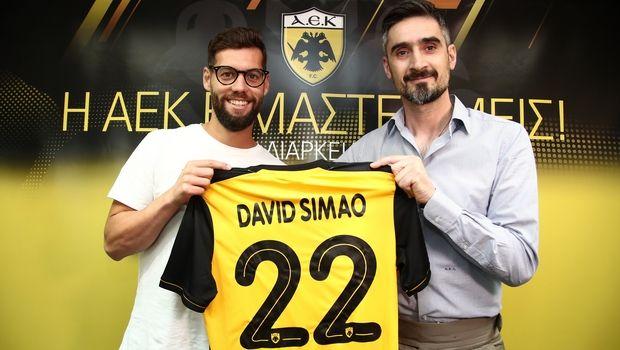 ΑΕΚ: Ανακοινώθηκε ο Σιμάο