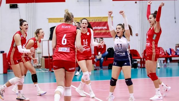 Volleyleague γυναικών: Στον ΠΑΟΚ το ντέρμπι τετράδας, αήττητος ο Ολυμπιακός