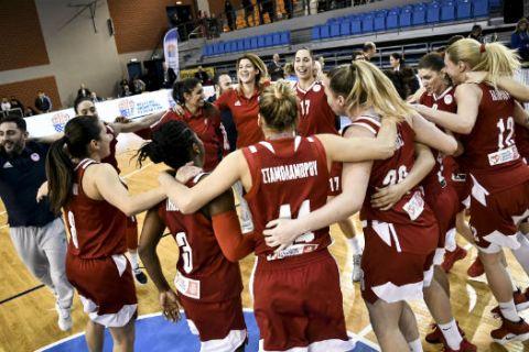Νίκη Λευκάδας - Ολυμπιακός 69-78: Κυπελλούχες για 4η σερί χρονιά οι ερυθρόλευκες