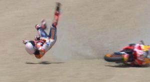 Moto GP: Σοβαρό ατύχημα και κάταγμα για τον Μαρκ Μάρκεθ