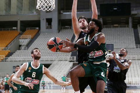 Παναθηναϊκός - Απόλλωνας Πάτρας 78-76: Φιλική νίκη στο φινάλε απέναντι στους εξαιρετικούς νεοφώτιστους