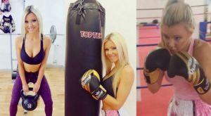 Η Marlene Maxima είναι η καλή πρέσβειρα του γερμανικού kickboxing