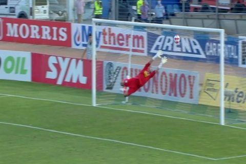 Ο Ντουάρτε έκανε το 1-1 στο Λαμία - Παναιτωλικός με ασύλληπτο σουτ