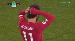 O Σαλάχ έκανε σέντρα και παραλίγο να βάλει τρομερό γκολ!