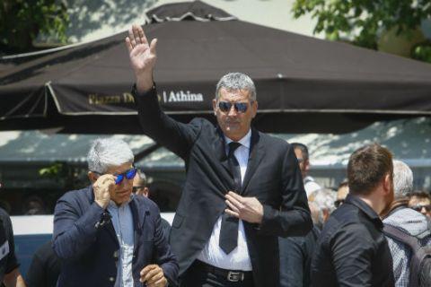 """Το """"αντίο"""" των θρύλων του Παναθηναϊκού στον Παύλο Γιαννακόπουλο"""