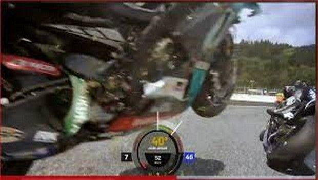 Moto GP: Το onboard από τη μηχανή του Ρόσι προκαλεί σοκ