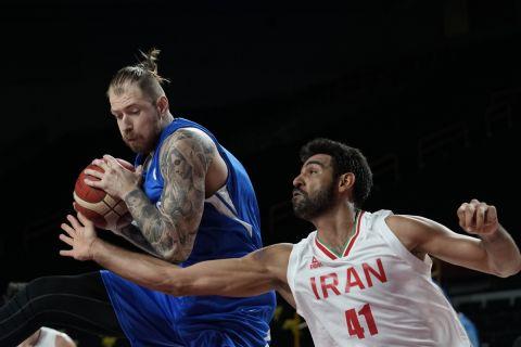Ο Πάτρικ Άουντα από τον αγώνα της Τσεχίας με το Ιράν στους Ολυμπιακούς αγώνες του Τόκιο | 25 Ιουλίου 2021