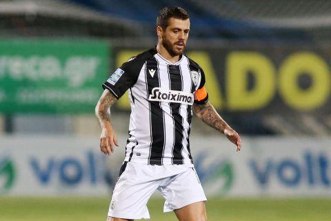 Ο Βιεϊρίνια στην αναμέτρηση του ΠΑΟΚ με τον Αστέρα για τη Super League Interwetten.