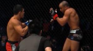 """Ο Eddie Alvarez """"τιμωρήθηκε"""" βάναυσα στο ONE Championship"""