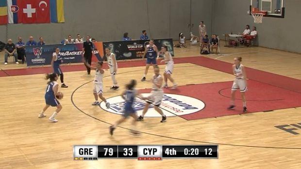 Για τις θέσεις 9-12 η Εθνική Νεανίδων που συνέτριψε την Κύπρο