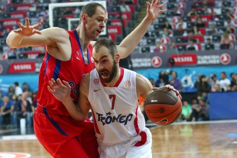 ΤΣΣΚΑ Μόσχας - Ολυμπιακός 61-62