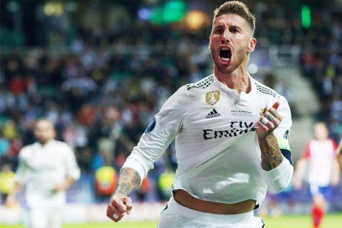 101 φορές πανηγύρισε έτσι ο Σέρχιο Ράμος, όσα και τα γκολ που πέτυχε με τη φανέλα της Ρεάλ Μαδρίτης.