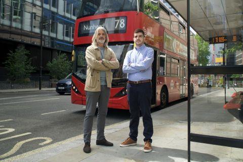 Ο Αντρέα Παλομπαρίνι και ο Αλέξανδρος Τρίγκας στο Λονδίνο