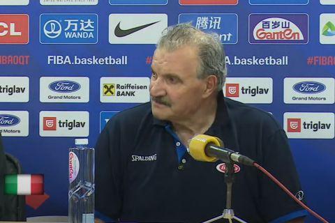 Ο προπονητής της Εθνικής Ιταλίας, Μέο Σακέτι